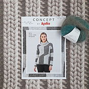 Материалы для творчества handmade. Livemaster - original item Schemes for knitting: Concept by Katia magazine No №4 New issue. Handmade.