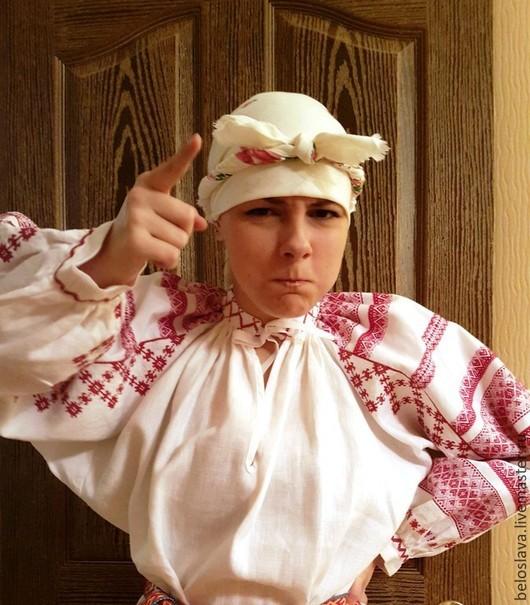 Одежда ручной работы. Ярмарка Мастеров - ручная работа. Купить Рубаха брянская. Handmade. Рубаха брянская, русский