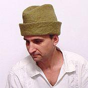 Русский стиль handmade. Livemaster - original item Archer`s hat (in two colors). Handmade.