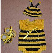 """Работы для детей, ручной работы. Ярмарка Мастеров - ручная работа Комплект детский """" Пчёлка"""". Handmade."""