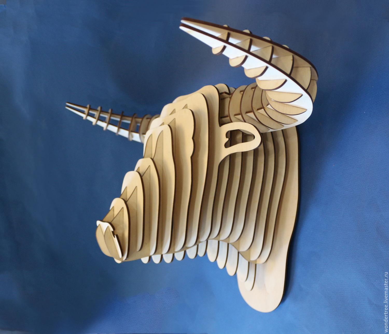 Элементы интерьера ручной работы. Ярмарка Мастеров - ручная работа. Купить Голова быка 3. Handmade. Корова, бык