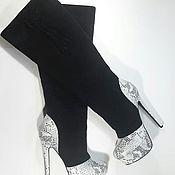 High Boots handmade. Livemaster - original item Women`s boots