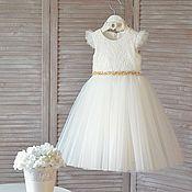 """Платье ручной работы. Ярмарка Мастеров - ручная работа Платье для девочки """"Olimpia"""". Handmade."""