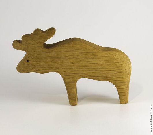 Игрушки животные, ручной работы. Ярмарка Мастеров - ручная работа. Купить Лось, деревянная развивающая игрушка.. Handmade. Деревянная игрушка