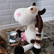 Куклы и игрушки handmade. Livemaster - original item Cow Dora, interior soft toy. Handmade.