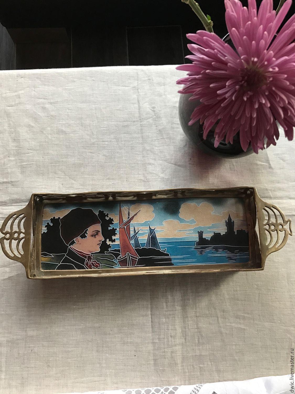 Tray 'Youthful dreams', handmade. Rarity, Vintage sets, Arnhem,  Фото №1