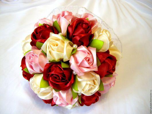 Букет невесты `Флоренция`. Свадебные цветы ручной работы. Санкт-Петербург. Мастер: Наталья. Телефон: 89531470005