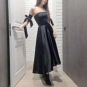 Одежда handmade. Livemaster - original item silk evening dress
