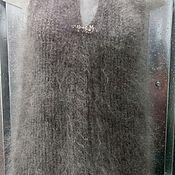 Одежда ручной работы. Ярмарка Мастеров - ручная работа Жилет из натурального козьего пуха.. Handmade.