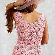 Одежда ручной работы. Ярмарка Мастеров - ручная работа Розовый зефир. Handmade.