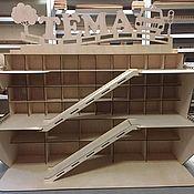 Игровые наборы ручной работы. Ярмарка Мастеров - ручная работа Игрушка парковка для машин. Handmade.