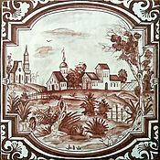 Для дома и интерьера handmade. Livemaster - original item Peterhof tiles. Handmade.
