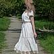 Платья ручной работы. Ярмарка Мастеров - ручная работа. Купить Летнее платье-бохо (100 % батист). Handmade. Платье