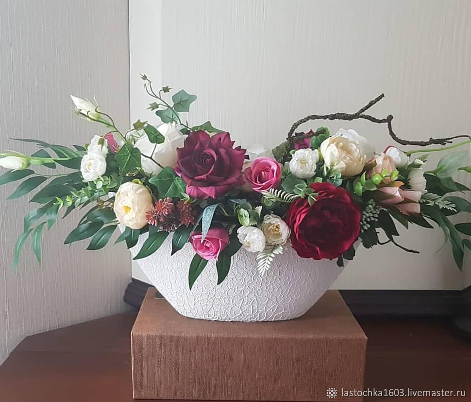 """""""Энджи"""" букет из искусственных цветов, Композиции, Люберцы, Фото №1"""
