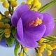 Подарки на Пасху ручной работы. Пасхальная композиция Яркая весна. Татьяна 'Magic of  Flowers'. Ярмарка Мастеров. Мимоза