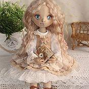 Куклы и пупсы ручной работы. Ярмарка Мастеров - ручная работа Злата , текстильная интерьерная кукла. Handmade.