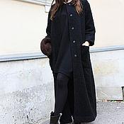 Одежда ручной работы. Ярмарка Мастеров - ручная работа Пальто Black Monk. Handmade.