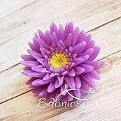 handmade. Livemaster - original item Chrysanthemum needle soap handmade flowers gift March 8. Handmade.