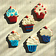 Кулинарные сувениры ручной работы. Ярмарка Мастеров - ручная работа. Купить Десерты. Handmade. Пряник, мороженое, пряник расписной