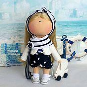 """Куклы и игрушки ручной работы. Ярмарка Мастеров - ручная работа Текстильная интерьерная кукла """"Сканди"""". Handmade."""
