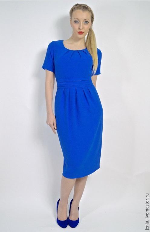 Платья ручной работы. Ярмарка Мастеров - ручная работа. Купить Deep blue sea dress by Candy Cottons. Handmade.