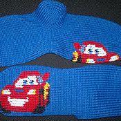 Работы для детей, ручной работы. Ярмарка Мастеров - ручная работа носочки с вышивкой. Handmade.