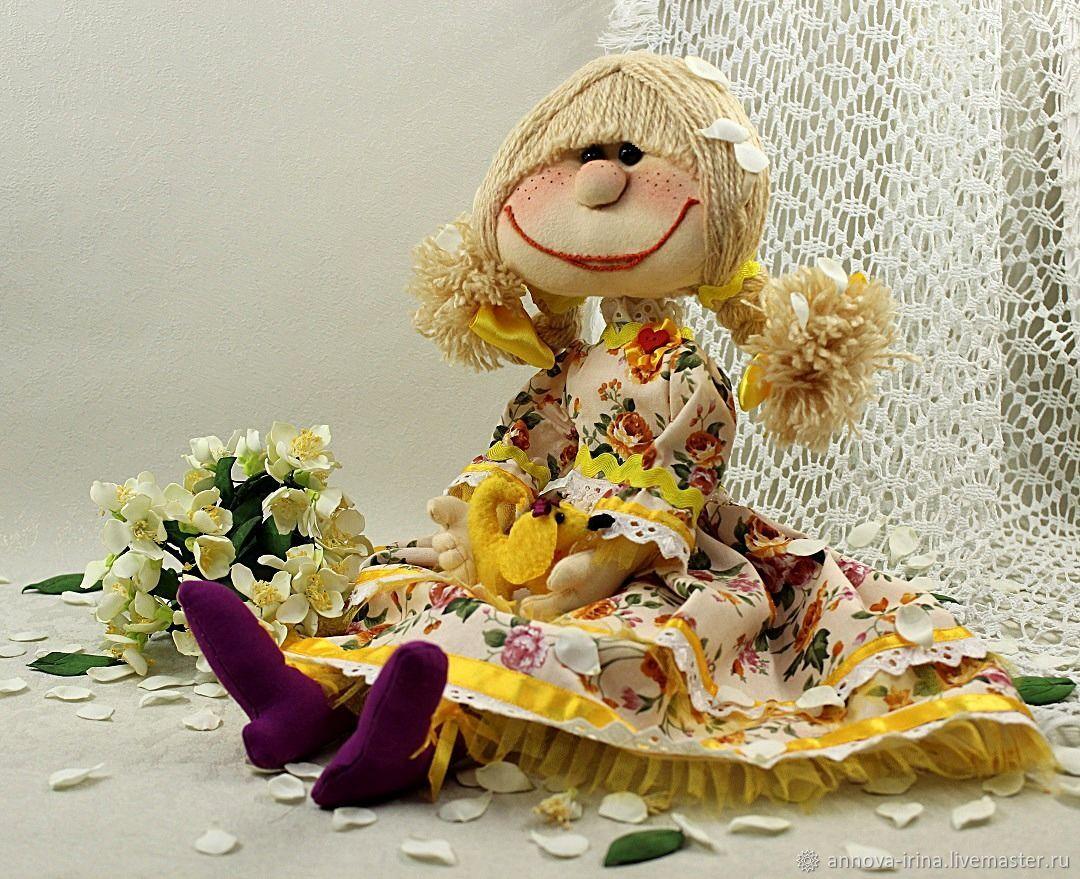 Текстильная игровая кукла «Маруся» для девочек 5-9 лет, Куклы и пупсы, Москва,  Фото №1