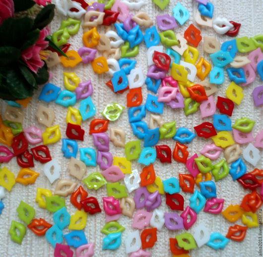 Губы пластиковые для кукол и игрушек