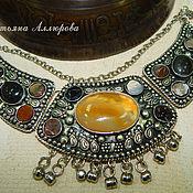 Украшения handmade. Livemaster - original item Atenokol in Indian style. Natural stones.. Handmade.