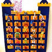 Куклы и игрушки ручной работы. Ярмарка Мастеров - ручная работа Плакат Алфавит  из фетра. Handmade.