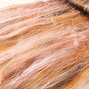 Материалы для творчества ручной работы. Ярмарка Мастеров - ручная работа Розовый коралл Вискоза   для валяния и прядения в баттах. Handmade.