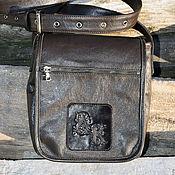 Сумки и аксессуары handmade. Livemaster - original item Mens handbag