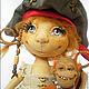 Коллекционные куклы ручной работы. Дженни и мистер Рик. Коллекционная кукла. Куклы и игрушки Светланы Ревво. Ярмарка Мастеров. Обезьянка