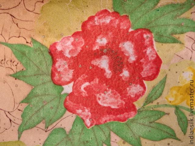 Шитье ручной работы. Ярмарка Мастеров - ручная работа. Купить Антикварный японский шелк 60х гг. Handmade. Япония