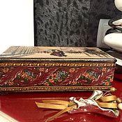 Для дома и интерьера ручной работы. Ярмарка Мастеров - ручная работа Шкатулка Двое. Handmade.