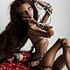Коллекционные куклы ручной работы. Сахара. Фарфоровая кукла.. Алина Иванова (Delicacy Dolls). Ярмарка Мастеров. Bjd