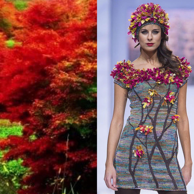"""Платье """"Осень в парке Гуэль"""", Платья, Москва, Фото №1"""
