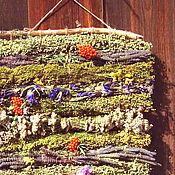 Украшения ручной работы. Ярмарка Мастеров - ручная работа Гобелен из степных и луговых лекарственных трав. Handmade.