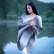 Одежда ручной работы. Ярмарка Мастеров - ручная работа Пальто валяное Вязаное пальто. Handmade.