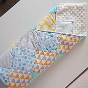 Для дома и интерьера ручной работы. Ярмарка Мастеров - ручная работа Лоскутное одеяло-плед. Handmade.