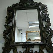 """Для дома и интерьера ручной работы. Ярмарка Мастеров - ручная работа Зеркало в деревянной декоративной раме """"Генри"""". Handmade."""