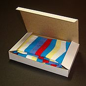 Packing box handmade. Livemaster - original item Box from cardboard with a hinged lid. Handmade.