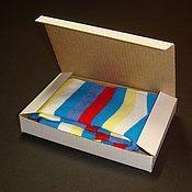 Упаковочная коробка ручной работы. Ярмарка Мастеров - ручная работа Коробочка из микрогофрокартона с откидной крышкой. Handmade.