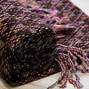 Аксессуары handmade. Livemaster - original item Tweed brown scarf from Dior fabric