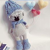 Куклы и игрушки handmade. Livemaster - original item Knitted toys-hedgehog. Handmade.