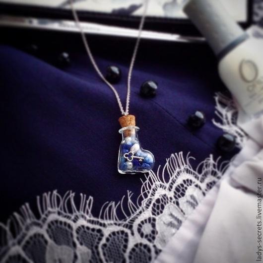 Кулоны, подвески ручной работы. Ярмарка Мастеров - ручная работа. Купить Ключик от сердца. Handmade. Разноцветный, натуральные материалы