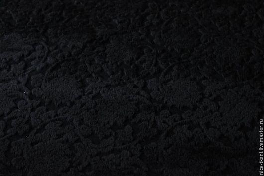 """Шитье ручной работы. Ярмарка Мастеров - ручная работа. Купить Ткань 16201 эксклюзивный итальянский драп """"объемные лилии"""". Handmade."""