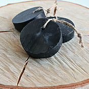 Косметика ручной работы handmade. Livemaster - original item Soap with coal
