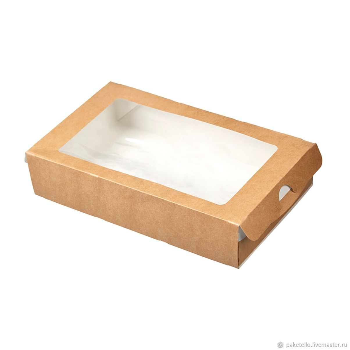 Коробка-пенал с окном - 200х120х40 мм, Коробки, Москва,  Фото №1