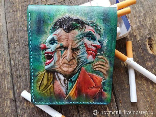Портмоне (кошелек, бумажник) двойного сложения (Bi-fold wallet) № 39, Кошельки, Ковров,  Фото №1